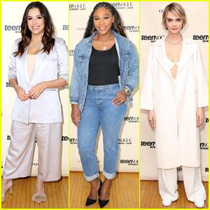Eva Longoria, Serena Williams, & Cara Delevingne Step Out for Teen Vogue Summit 2018!