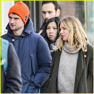 Friendly Exes Sienna Miller & Tom Sturridge Hang Out in NYC