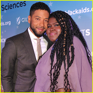 Gabourey Sidibe Meets Up with 'Empire' Co-Star Jussie Smollett at Heroes in the Struggle Gala
