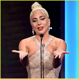 Lady Gaga Reacts to Her Golden Globe Nominations!