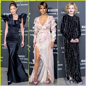 Gigi Hadid, Halle Berry & Julia Garner Celebrate Pirelli Calendar Launch 2019!