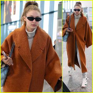 Gigi Hadid Looks Stylish While Heading Out of Milan!
