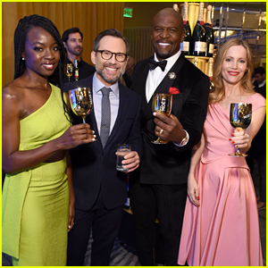 Danai Gurira, Leslie Mann, Terry Crews & Christian Slater Announce the Golden Globes 2019 Nominations