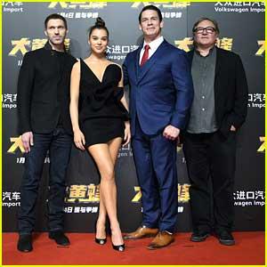 Hailee Steinfeld & John Cena Fly Into Beijing For 'Bumblebee' Premiere