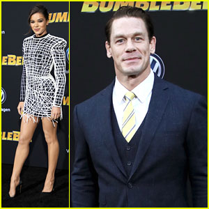Hailee Steinfeld & John Cena Attend Hollywood Premiere of 'Bumblee'