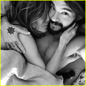 Heidi Klum Cozies Up to Fiance Tom Kaulitz in Hot Selfie From Bed!