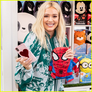 Hilary Duff Hosts Holiday Gathering With Operation Progress at The Grove