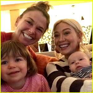 Younger's Hilary Duff & Sutton Foster Have a Play Date with Their Kids!