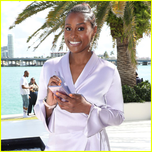 Issa Rae Soaks Up the Sun With Samsung at Art Basel!