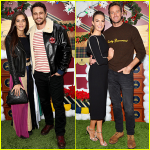 James Franco & Girlfriend Isabel Pakzad Couple Up at Brooks Brothers Holiday Celebration!