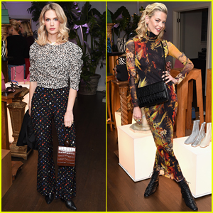 January Jones, Jaime King & More Get Festive at By Far Party!