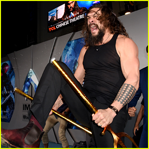 Jason Momoa Performs Spontaneous Haka, Breaks His Trident at 'Aquaman' Premiere (Video)