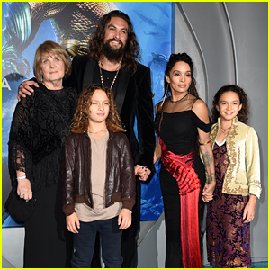 Jason Momoa Gets Support From Wife Lisa Bonet, Mom & Kids at 'Aquaman' LA Premiere!