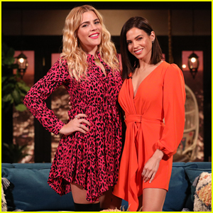 Jenna Dewan Tells Busy Philipps She Was 'Shy' Stripping Down for 'Women's Health' Cover - Watch!