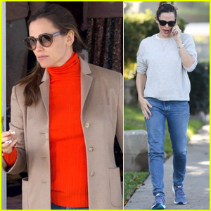 Jennifer Garner Spends the Day Picking Up Christmas Gifts