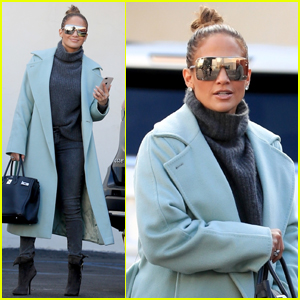 Jennifer Lopez Goes Glam While Shopping in Beverly Hills!
