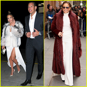 Jennifer Lopez Switches Up Her Outfits for Busy 'Second Act' Press Day in NYC!