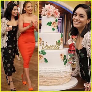 Jennifer Lopez Helps Vanessa Hudgens Celebrate Her 30th Birthday in Miami!
