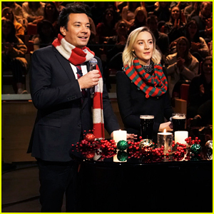 Jimmy Fallon & Saoirse Ronan Perfrom Duet of the Pogues' 'Fairytale of New York'!