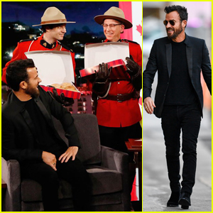 Jimmy Kimmel Hilariously Mistakes Justin Theroux for Justin Trudeau - Watch Here!