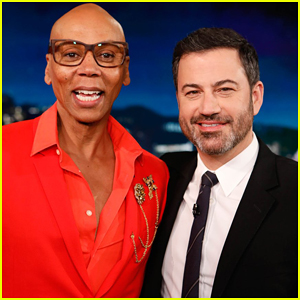 Jimmy Kimmel Takes Pill To Become RuPaul - Watch Here!
