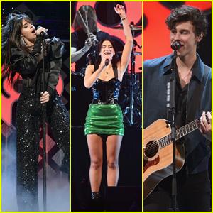 Camila Cabello, Dua Lipa & Shawn Mendes Perform at Q102's Jingle Ball 2018!