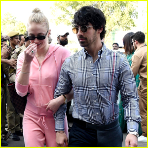 Joe Jonas & Sophie Turner Join Family at Nick's Post-Wedding Celebrations