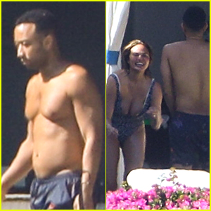 John Legend Goes Shirtless in Cabo for Chrissy Teigen's Birthday Trip!