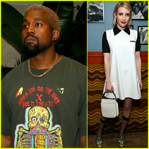 Kanye West & Emma Roberts Hit the Town During Art Basel in Miami!