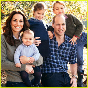 Prince William & Kate Middleton Release Family Christmas Card 2018!