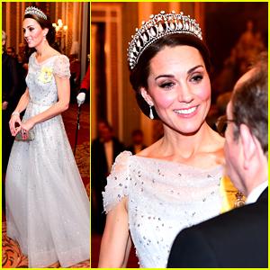 Kate Middleton Wears Princess Diana's Favorite Tiara to Royal Reception at the Palace