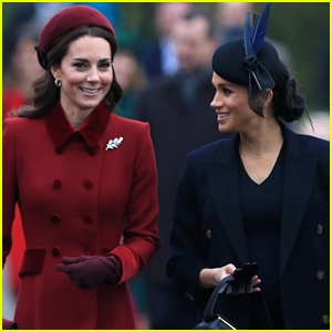 Meghan Markle & Kate Middleton Share Cute Moment in Video Fans Can't Stop Talking About!