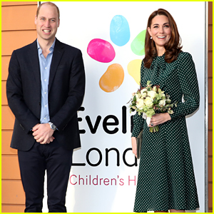 Kate Middleton & Prince William Visit Children's Hospital as the Duchess Becomes Its Patron!