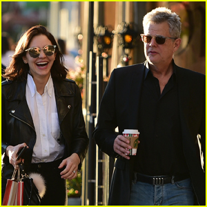 Katharine McPhee & David Foster Get Some Holiday Shopping Done!