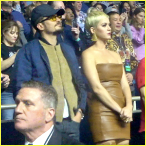 Katy Perry & Orlando Bloom Attend Lady Gaga's Opening Night in Vegas!