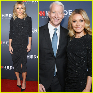 Kelly Ripa & Anderson Cooper Host Star-Studded CNN Heroes 2018!