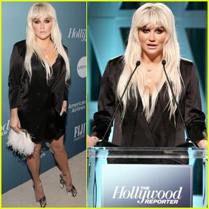 Kesha Announces Mentorship Program at THR's Power 100 Women In Entertainment Event