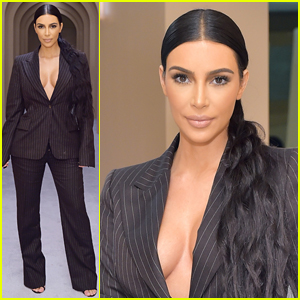 Kim Kardashian Surprises Fans at KKW Beauty Pop-Up Shop!
