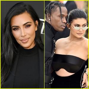 Kim Kardashian Speaks to Rumors That Kylie Jenner Is Married to Travis Scott