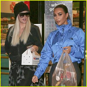 Khloe Kardashian Brings Home a Pet After Visit to Petsmart with Sister Kim