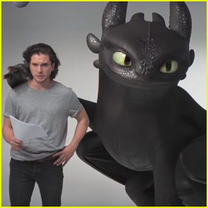 Kit Harington Shares Mock 'GoT' Audition Reel with Toothless from 'How to Train Your Dragon' - Watch Here!