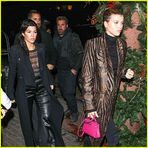 Kourtney Kardashian, Scott Disick & Sofia Richie Spend Time Together in Aspen!