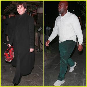 Kris Jenner Grabs Dinner With Boyfriend Corey Gamble in LA
