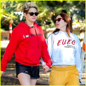 Kristen Stewart & Rumored Girlfriend Sara Dinkin Couple Up for Morning Hike