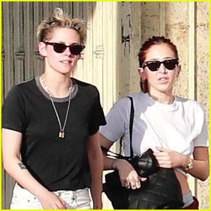 Kristen Stewart & Sara Dinkin Hit The Spa After Morning Hike