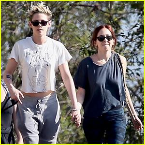 Kristen Stewart & Sara Dinkin Hold Hands for Saturday Morning Hike
