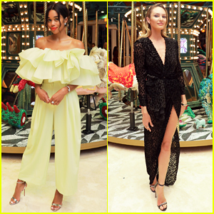 Laura Harrier, Candice Swanepoel & More Celebrate Bvlgari's Art Production Fund Collab at Art Basel Miami!