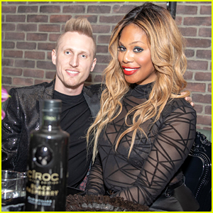 Laverne Cox Celebrates the Holidays with Boyfriend Kyle Draper!