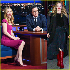 Leslie Mann Opens Up About Living With 'Old' Daughter on 'Late Show' - Watch Here!