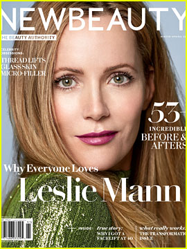 Leslie Mann Talks Living With Judd Apatow & Aging in Hollywood